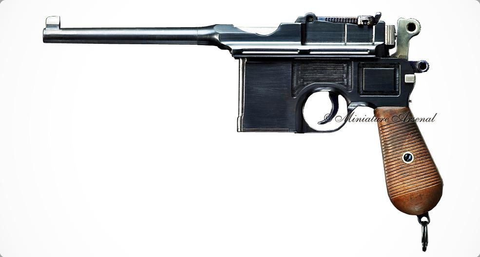 Модель пистолета маузер в натуральную величину